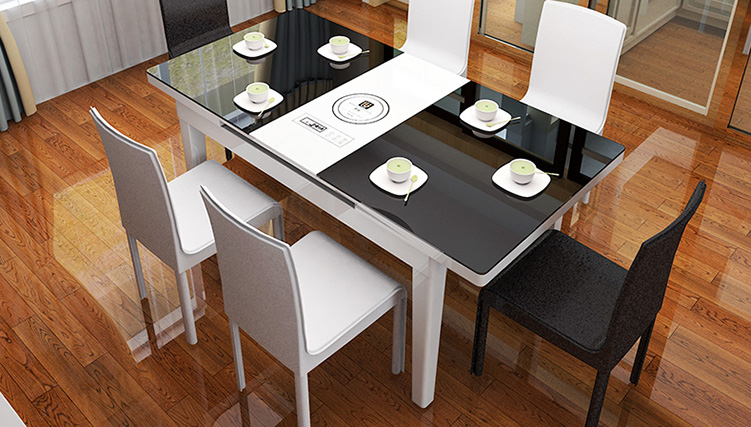 Những bộ bàn ăn thông minh siêu tiện lợi - tiết kiệm không gian-01