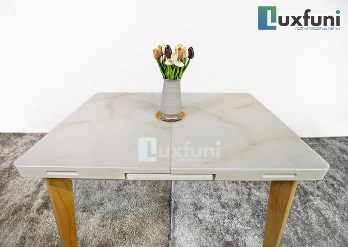 5+ mẫu bàn ăn mở rộng mặt đá-4