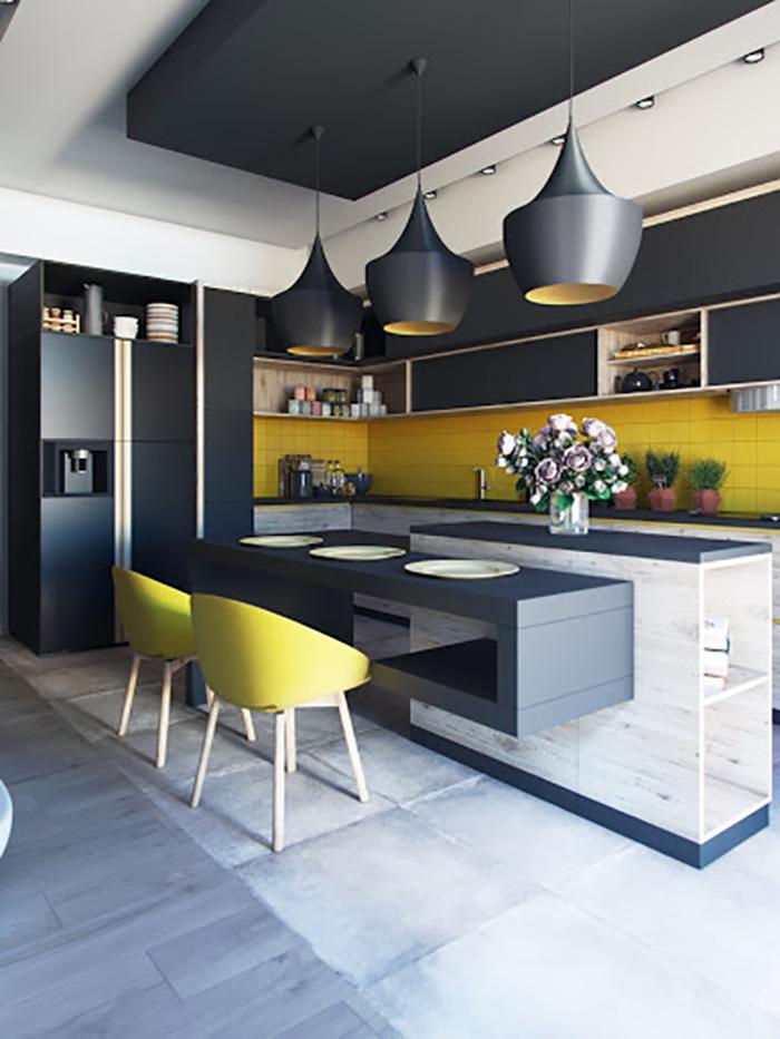 7 Ý tưởng thiết kế cho không gian bếp đẹp hiện đại-5