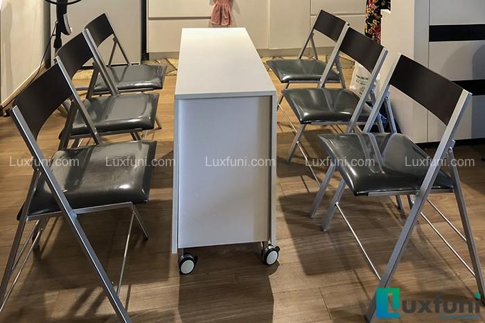 Bộ bàn ăn thông minh B2208 (1 bàn+6 ghế)