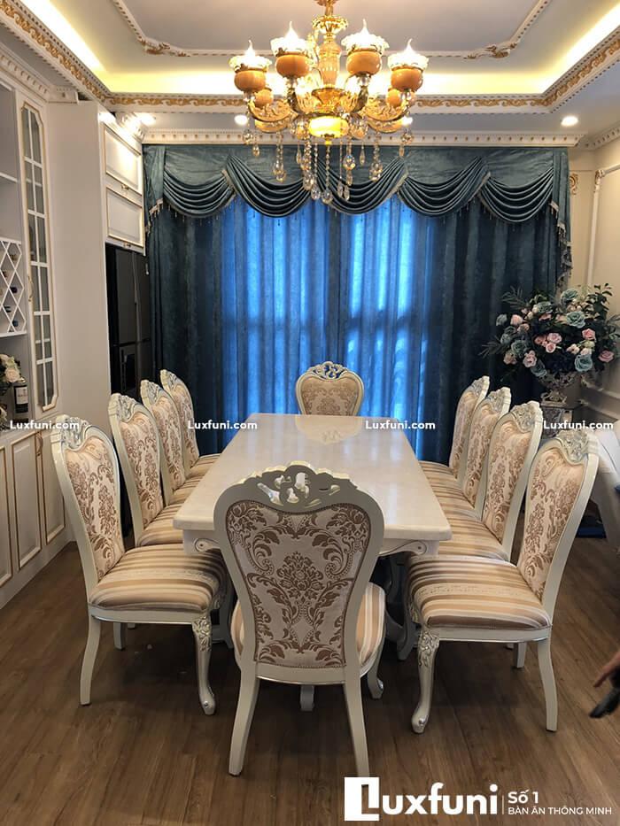 Bàn ăn chung cư 8 ghế thay đổi diện mạo không gian bếp nhà bạn-14-1