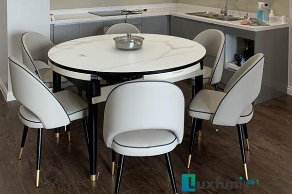 Các mẫu bàn ăn đẹp đa phong cách đa chất liệu [giá cực sốc]-42