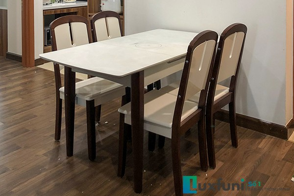 Các mẫu bàn ăn đẹp đa phong cách đa chất liệu [giá cực sốc]-45