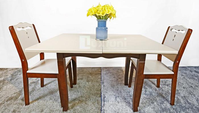 Đánh giá mẫu bàn ăn đẹp mặt đá A1916-3