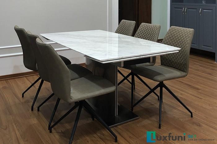 Ghế ăn 6232 kết hợp bàn ăn thông minh T809-Anh Đông-Chung cư Tecco, Văn Điển-2