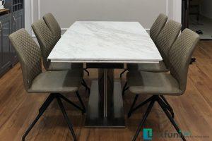 Ghế ăn 6232 kết hợp bàn ăn thông minh T809-Anh Đông-Chung cư Tecco, Văn Điển
