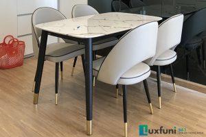 Ghế ăn C1228 kết hợp bàn ăn mặt đá C6-Chị Hiền-Tòa S2, Vinhomes Skylake, Phạm Hùng-1