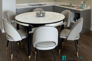 Ghế ăn C1228 kết hợp bàn ăn thông minh bếp từ T1959-Chú Long-Tòa Residence Tây Hồ, 68A Võ Chí Công, Xuân La, Tây Hồ-2