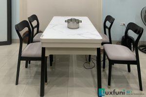 Ghế ăn Y2020-2 kết hợp bàn ăn bếp từ T1958-Chị Hoa-Thị trấn Kim Động, Hưng Yên