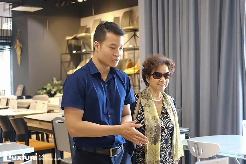 Báo chí nói về bàn ăn thông minh Luxfuni