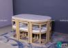 Những bộ bàn ăn thông minh siêu tiện lợi, giúp tiết kiệm không gian