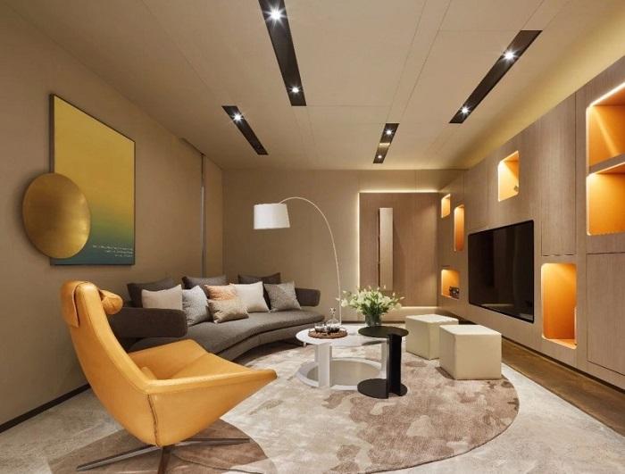Những mẫu thiết kế nội thất phòng khách chung cư đẹp hoàn hảo-11