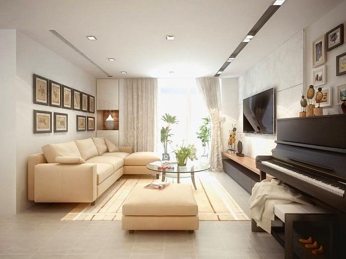 Những mẫu thiết kế nội thất phòng khách chung cư đẹp hoàn hảo-4