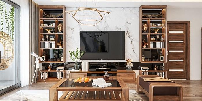 Những mẫu thiết kế nội thất phòng khách chung cư đẹp hoàn hảo-7