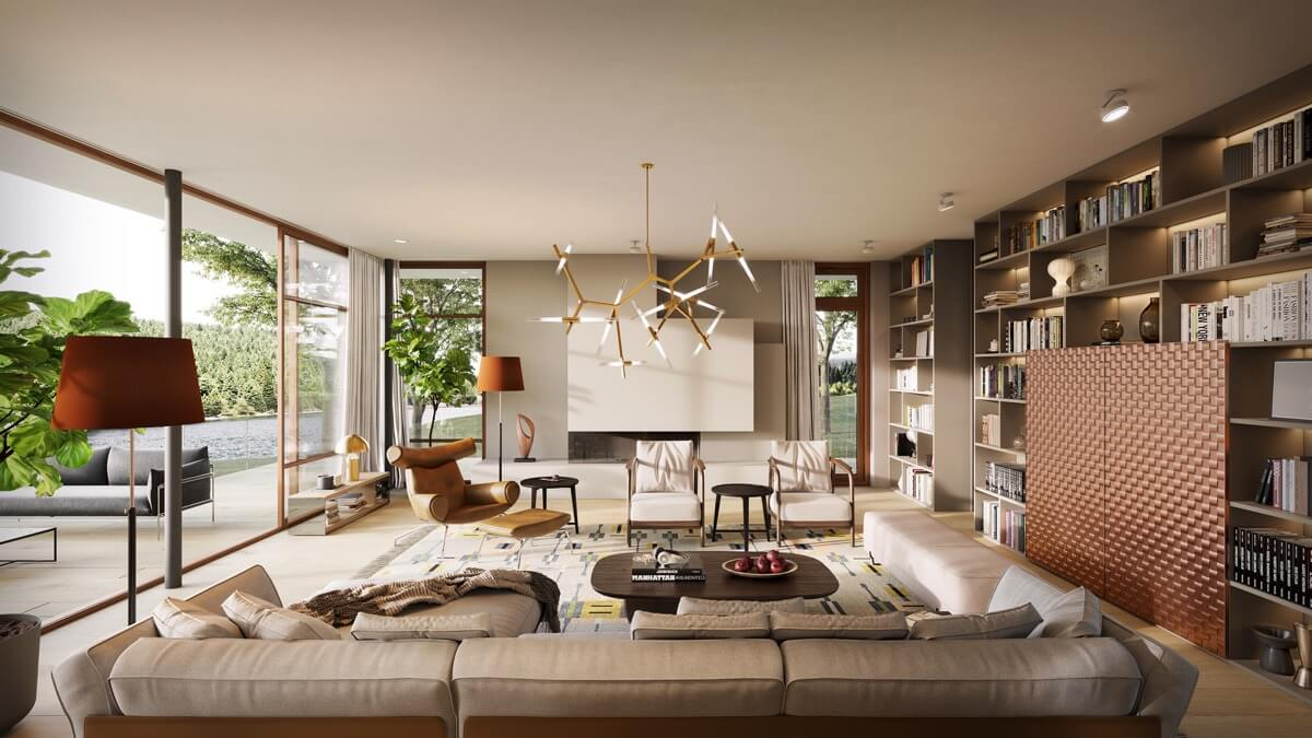 Những mẫu thiết kế nội thất phòng khách chung cư đẹp hoàn hảo-8