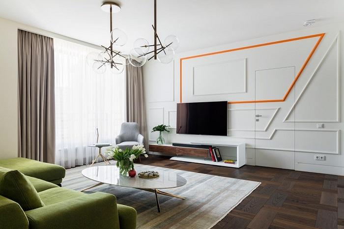 Những ý tưởng thông minh khi hoàn thiện nội thất phòng khách chung cư nhỏ-2
