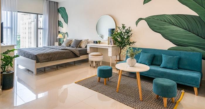 Những ý tưởng thông minh khi hoàn thiện nội thất phòng khách chung cư nhỏ-6