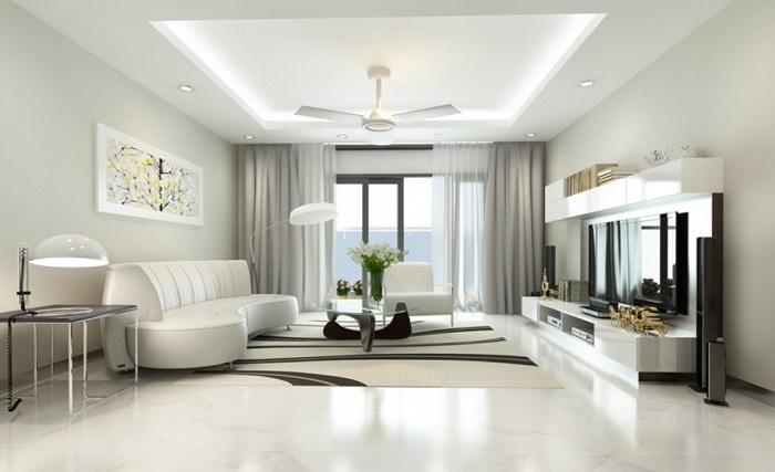 Những ý tưởng thông minh khi hoàn thiện nội thất phòng khách chung cư nhỏ-7