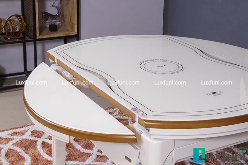 Tô điểm căn bếp theo phong cách Modernism với bàn ăn kính tròn-4