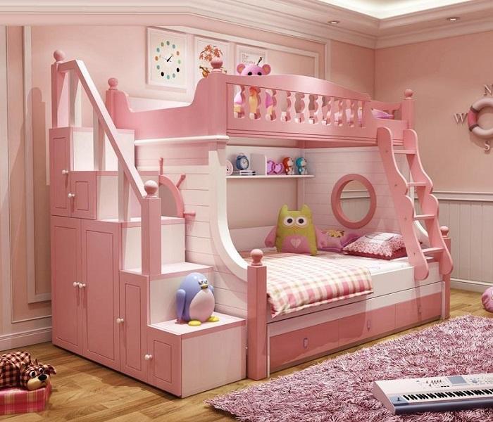 Tổng hợp những mẫu giường tầng cho bé hot-1