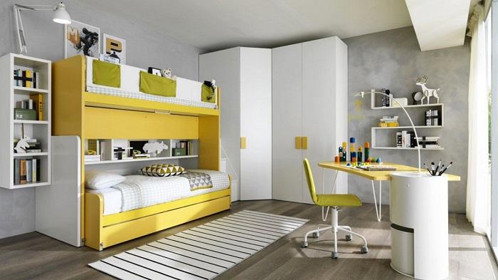 Tổng hợp những mẫu giường tầng cho bé hot-13