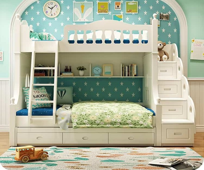 Tổng hợp những mẫu giường tầng cho bé hot-2