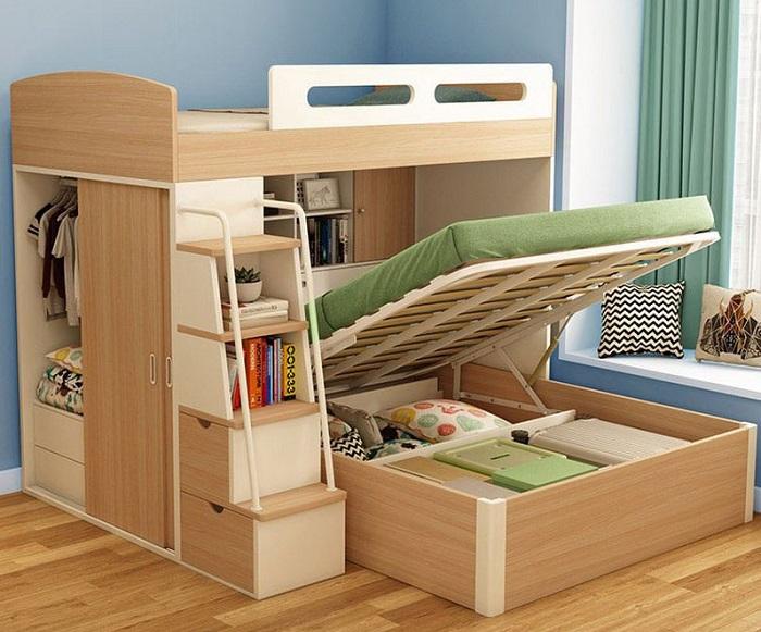 Tổng hợp những mẫu giường tầng cho bé hot-3