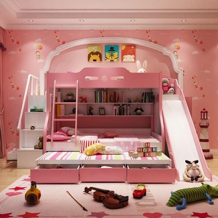 Tổng hợp những mẫu giường tầng cho bé hot-4