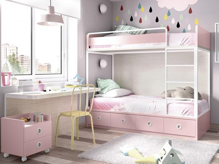 Tổng hợp những mẫu giường tầng cho bé hot-5