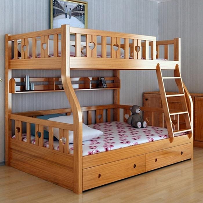 Tổng hợp những mẫu giường tầng cho bé hot-7