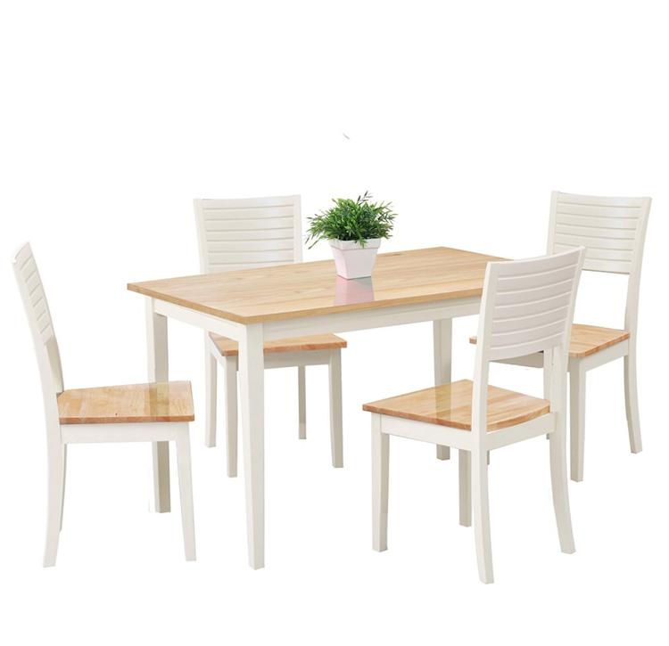 Top 15+ mẫu bàn ghế gỗ cao su - Hàng nhập khẩu chính hãng-14