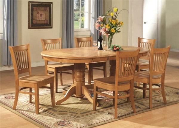 Top 15+ mẫu bàn ghế gỗ cao su - Hàng nhập khẩu chính hãng-16