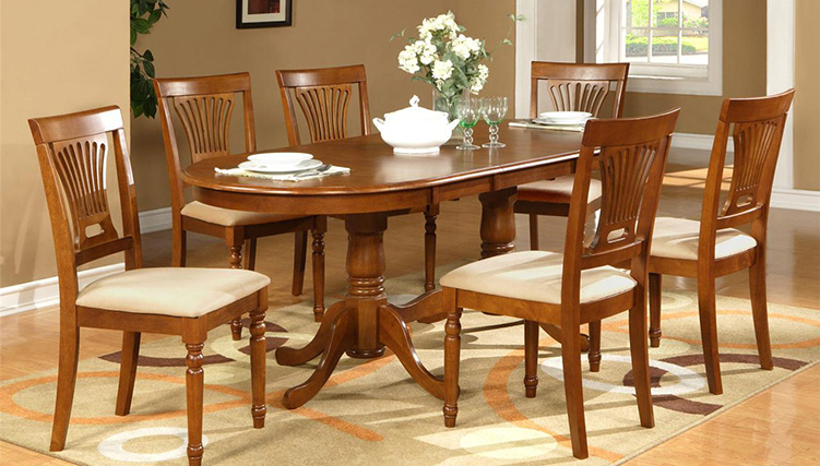 Top 15+ mẫu bàn ghế gỗ cao su - Hàng nhập khẩu chính hãng-17