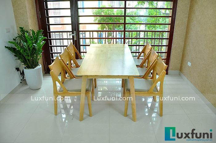 Top 15+ mẫu bàn ghế gỗ cao su - Hàng nhập khẩu chính hãng-4