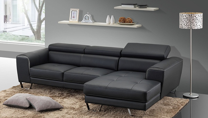 Bộ bàn ghế sofa da phòng khách