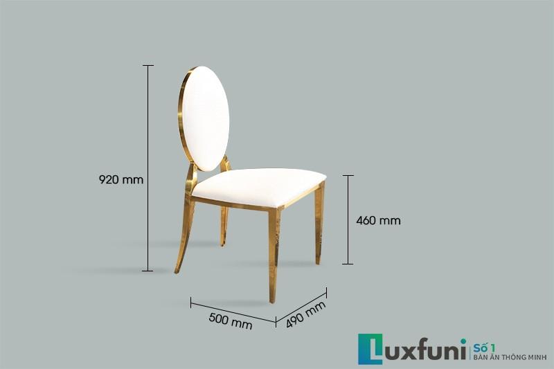 Kích thước ghế ăn 002#
