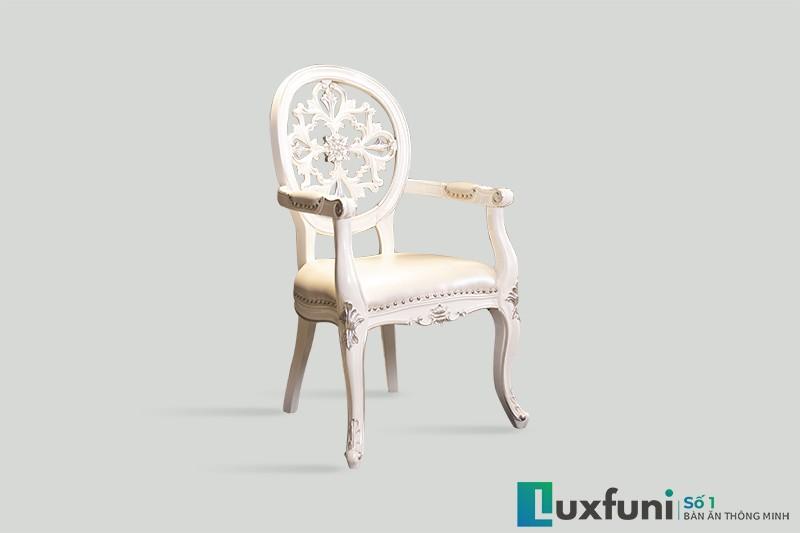 Ghế ăn tân cổ điển 8801X có tay thanh lý-1