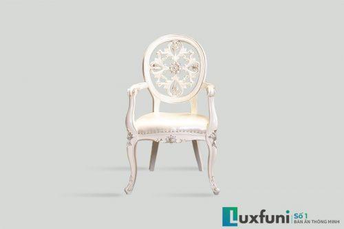 Ghế ăn tân cổ điển 8801X có tay thanh lý-2