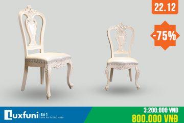 Ghế ăn tân cổ điển 8802X thanh lý