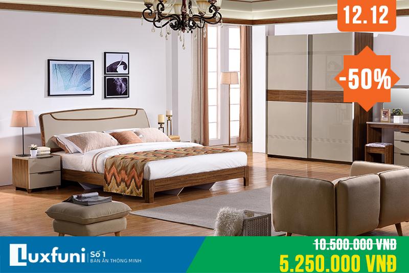 Giường ngủ hiện đại BOF 361 thanh lý