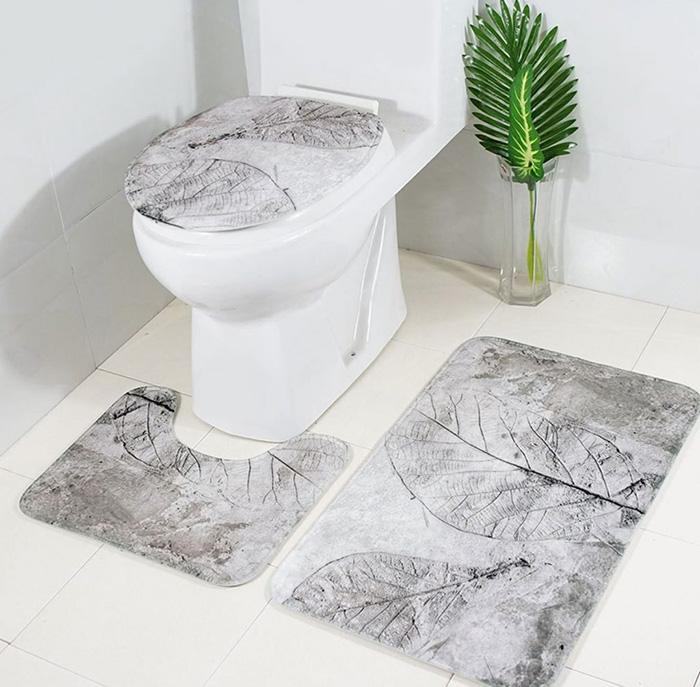 Thảm trải sàn trong nhà vệ sinh