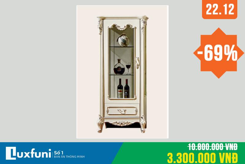 Tủ rượu tân cổ điển 8801X thanh lý