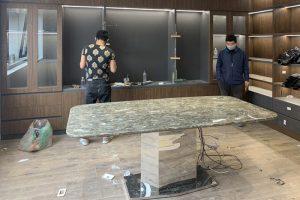Bàn ăn mặt đá Onyx TC8246-Anh Tuấn-KĐT Trung Văn, Vinaconex-2