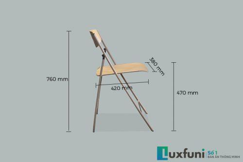 Thông số kích thước ghế ăn C3415P