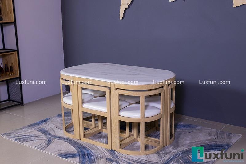Bộ bàn ăn 6 ghế hiện đại C1