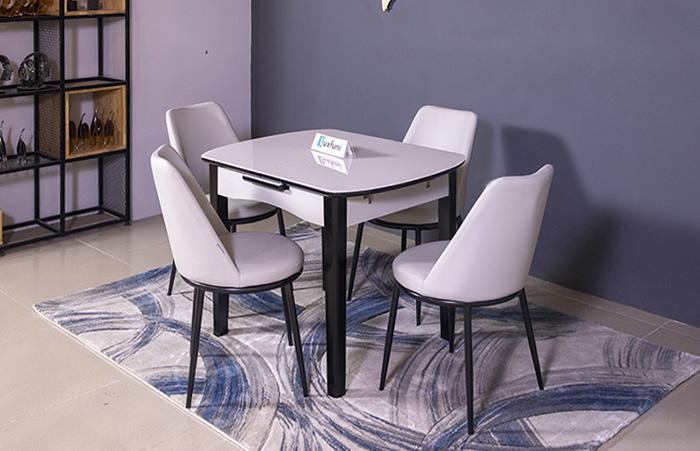 Bộ bàn ăn thu gọn mở rộng B68