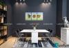 Bộ bàn ăn 4 ghế cho không gian phòng ăn nhỏ trở nên rộng rãi