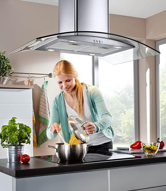 Khử mùi hôi trong bếp