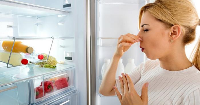 Xóa tan mùi hôi trong tủ lạnh