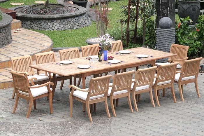 bàn ăn thông minh 12 ghế